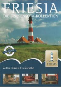 Katalog Frisia Kollektion - Ostfriesensofa, Tischsofa, Küchensofa nach Wunsch